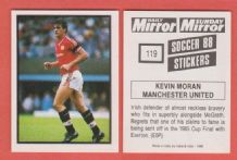 Manchester United Kevin Moran Eire